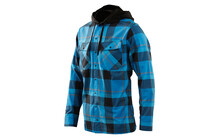 Royal Racing Cutter Hoody men royal blue